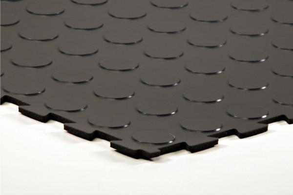sagu® flooring – Gummiliesen-Designbelag anthrazit