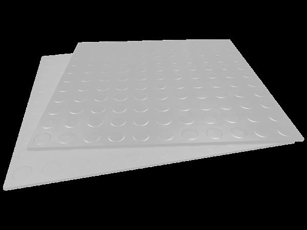 sagu flooring Gummifliese glatt lichtgrau