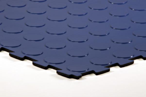sagu® flooring – Gummiliesen-Designbelag marineblau
